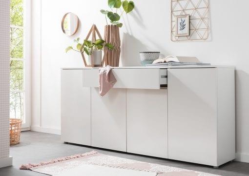 Designer Sideboard Lux - Weiß